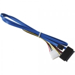 HighPoint SATA to SAS/SATA with Power ( SATA to SFF-8482), 1M (3-Feet) ENJ-100111-2Z12