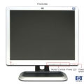 "17"" HP L1710 LCD MONİTÖR"