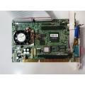 Lanner Electronics IAC-H672 CPU Board. Half-size ISA
