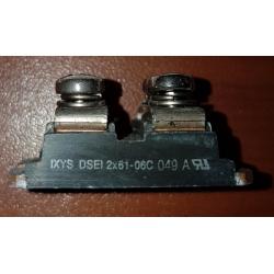 Ixys DSEI2X61-06C Mouser