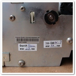 Siemens Nixdorf 1750014499 Cash Recycler