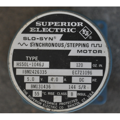 Superior Electric Hs50l 1046j Slo Syn Stepping Motor