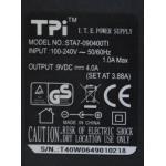 Tpi STA7-090400TI 9V 4A Adaptör