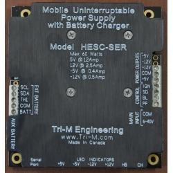 Dc Dc Converter 60 Watt High Efficiency UPS High Efficiency HESC-SER