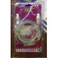 Cooler Master TEC-I06-EB Blue EL Firewire 1394 Cable 6