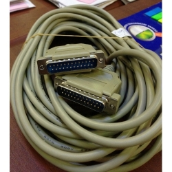 25 pin erkek - 25 pin Erkek 9,5 metre Kablo