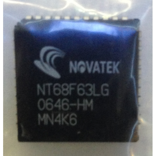Samsung NOVATEK NT68F63LG Empty IC chip   Topkapı Bilgisayar