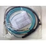 1-6695464-0 AMP Kablo Splitter MPO / 12 x LC Fiber Tipi: 50/125 mikron, OM3, Uzunluk: 10 m