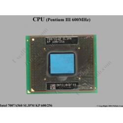 SL3PM (Intel Mobile Pentium III 600 MHz)