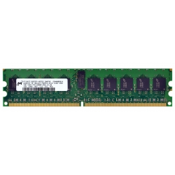 1GB DDR2 ECC MT18HTF12872PY-667D2 PC2-5300 CL5 REG RAM