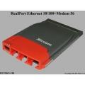Xircom Realport Ethernet 10/100+Modem56 REM56G100