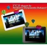 Inca Rasch 8'' 16GB Bluetooth 1GB RAM+HD Ekran Tablet Pc